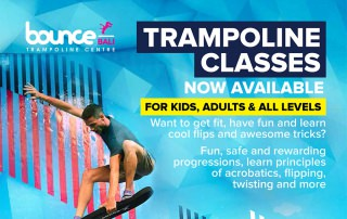 Trampoline Classes Now Available