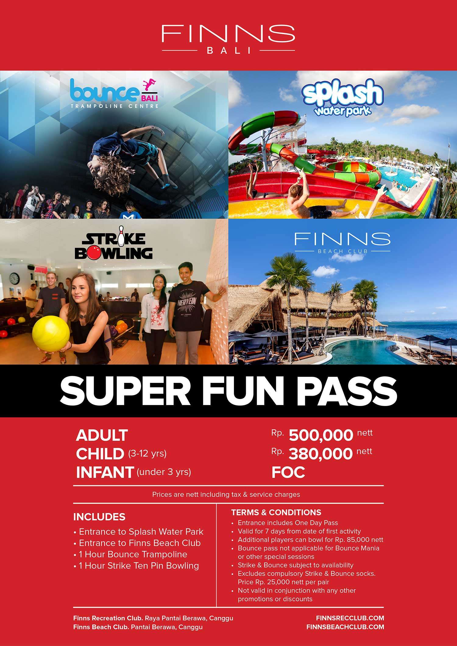 WHATSON SUPER FUN PASS