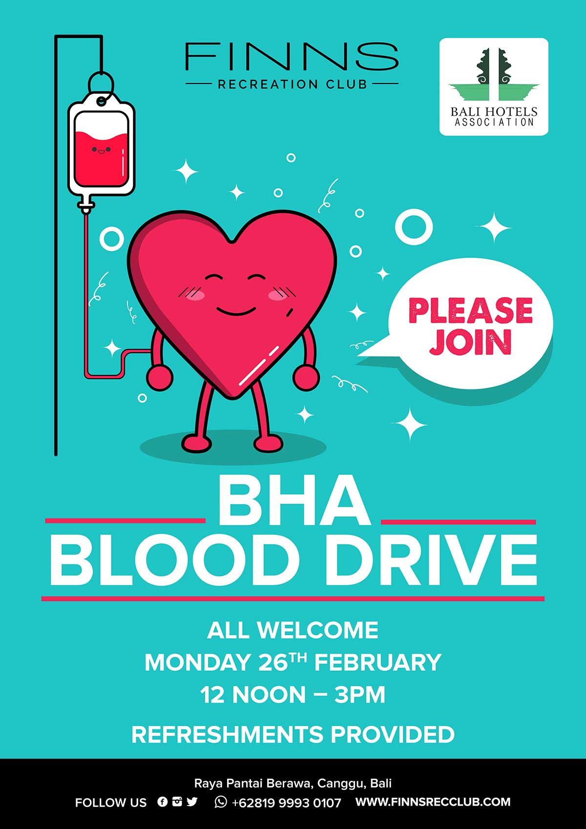 BHA Blood Drive