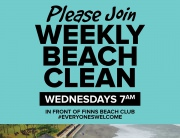 Weekly Beach Clean